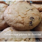 Les cookies aux pépites de chocolats