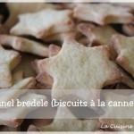 Dans la catégorie biscuits de noël (Bredele), je demande les kanel bredele (les biscuits à la cannelle)