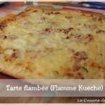 Tarte flambée (Flamme kueche)