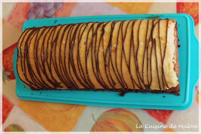 recette-bûche-chocolat-caramel