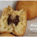 Les beignets au nutella (recette de base des beignets)