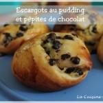 Escargots (Schneckele) au pudding ou cannelle
