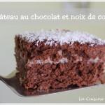 Gâteau au chocolat fourré à la noix de coco façon Kinder délice