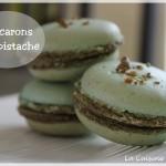 Macarons à la pistache (+ recette pâte à pistache)
