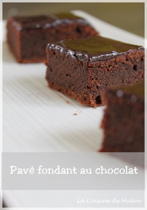 recette-pavé-chocolat-fondant