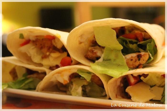 recette-wraps-chauds-poulet-mexicains