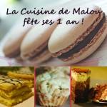 La Cuisine de Malou fête ses 1ans : place au 1er concours du blog !