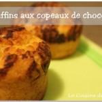 Muffins super moelleux aux pépites ou copeaux de chocolat