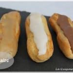 Les éclairs, un des joyaux de la pâtisserie française (CAP)