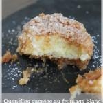 Les quenelles sucrées au fromage blanc ou topfenknodel (spécialité autrichienne)