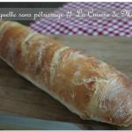 Baguettes sans pétrissage (sans MAP) comme chez le boulanger
