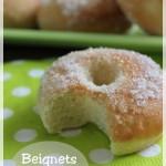 Beignets cuits au four, pour des beignets sans complexe !