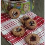 Dans la catégorie biscuits de noël (bredele), je demande les mini-linzer