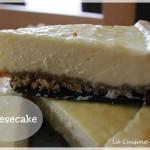 La première vidéo en ligne : la recette du cheesecake !!!