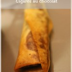 Cigare au chocolat, la bonne surprise chocolatée !