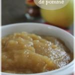Compote de pommes facile (thermomix ou sans)