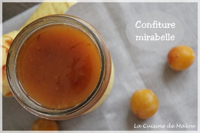 La Confiture à La Mirabelle Avec Ou Sans Thermomix La Cuisine De Malou