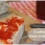 Confiture rhubarbe-fraise, la confiture de saison ! (thermomix)