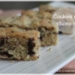 Les cookies fingers ou cookies sticks, noix de coco et chocolat