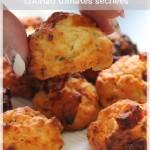 Cookies salés au chorizo et tomates confites (apéro dînatoire #5)