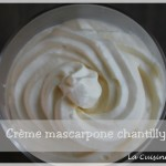 Crème mascarpone chantilly au thermomix (ou sans)