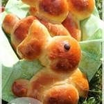Brioche lapin / façonnage lapin pour pâte levée (Pâques)