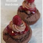 Fête des mères : cupcakes chocolat-framboise, la gourmandise spéciale maman !