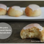 Petits pains de carnaval danois (fastelavnsboller)