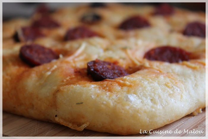 recette-fougasse-chorizo-gruyère