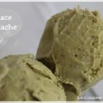 La glace à la pistache (crème glacée/pistachio ice cream)