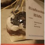 Cadeau gourmand #4 : kit à offrir muffin tout chocolat (ou SOS muffin)