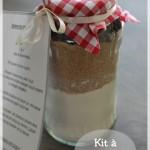 Kit à offrir : cookies tout prêt