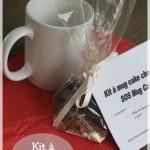 Cadeau gourmand #3 : kit à offrir mug cake chocolat (ou SOS mug cake)