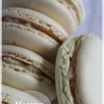 Macaron au banana curd