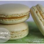 Macarons au citron, le macaron qui a du peps ! (meringue italienne)