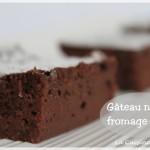 Gâteau au chocolat/nutella et fromage blanc, la fraîcheur et le fondant au rendez-vous !