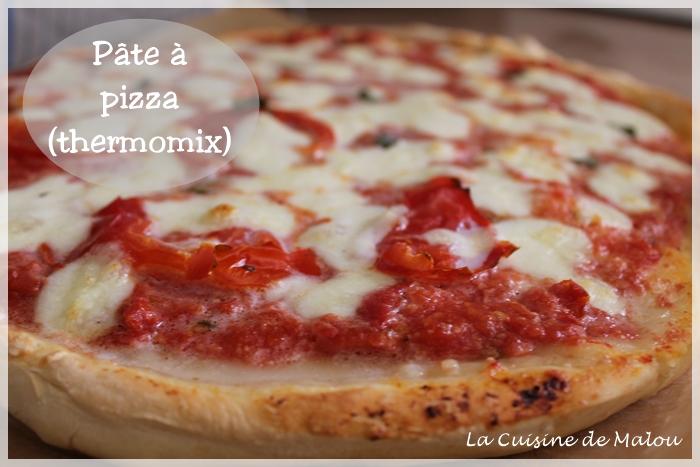 Pate A Pizza Rapide Thermomix Moelleuse Et Croustillante La