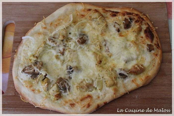 recette-pizza-blanche-indienne-poulet