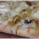 Pizza au poulet curry (pizza indienne)