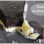 La tarte au chocolat, c'est fort en chocolat !
