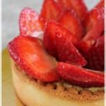 Tarte aux fraises et pistache (CAP pâtissier)