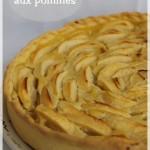 Tarte aux pommes en forme de rose (apple pie)