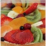 Tarte aux fruits frais ou tarte tutti frutti (CAP pâtissier)