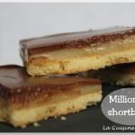 Le millionaire shortbread ou le twix maison (caramel shortbread)