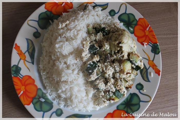 repas-végétarien-courgette-ricotta-riz