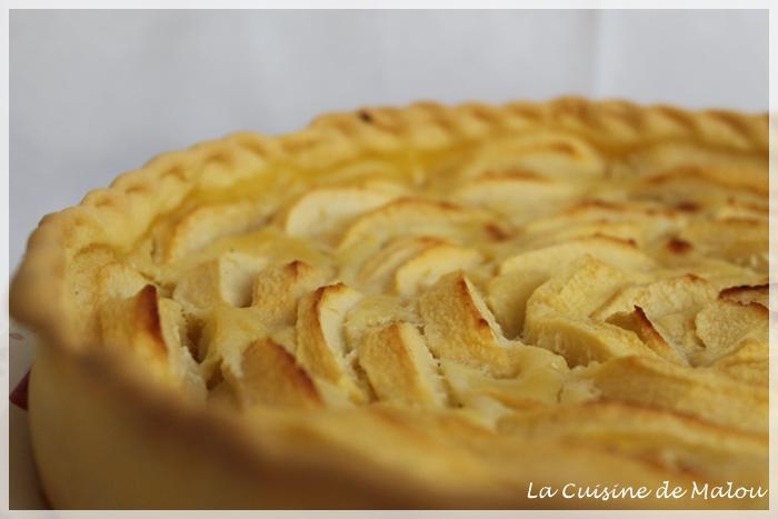 tarte-pommes-flan-rose