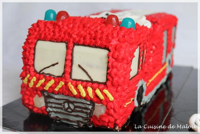 camion-pompier-gâteau-original-garçon