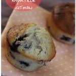 Cupcake aux myrtilles et citron (Georgetown Cupcake recipe)