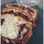 Le fameux cake marbré de Christophe Felder