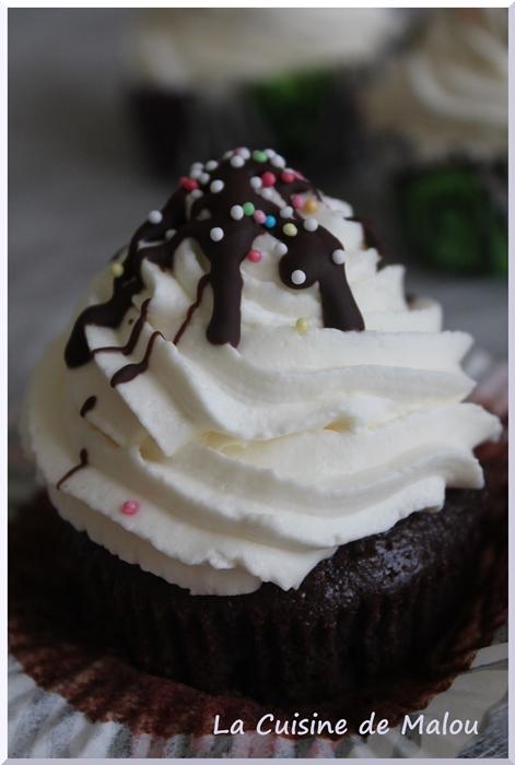 recette-cupcake-chocolat-crème-mascarpone